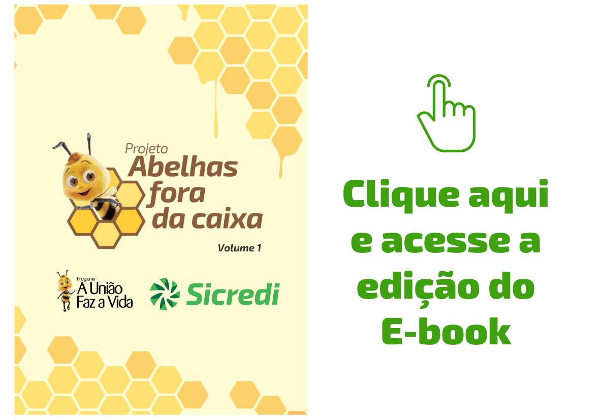 Arte download e-book Abelhas Fora da Caixa